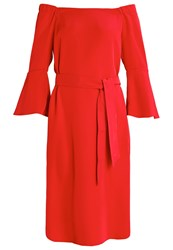 Marella Dorty Summer Dress Red