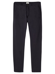 Jigsaw Heavy Cotton Tracksuit Trousers Navy