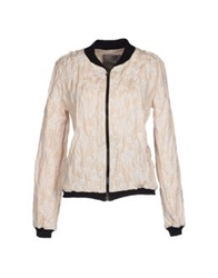 Es'givien Jackets Beige
