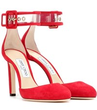 Jimmy Choo Magic High Heeled Sandals Red