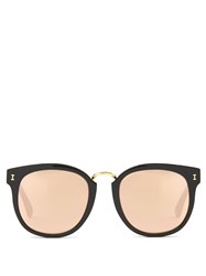 Illesteva Sardinia Acetate Sunglasses Black