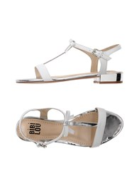 Bibi Lou Sandals White