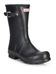 Hunter Original Short Rain Boots Black