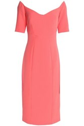 Safiyaa Crepe Dress Coral