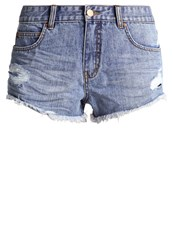 Billabong Highway Denim Shorts Beach Blue Blue Denim