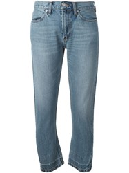 Marc By Marc Jacobs Cropped Jeans Blue
