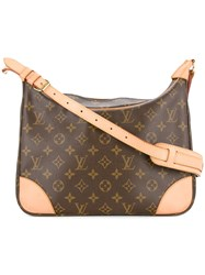 Louis Vuitton Vintage Boulogne 30 Shoulder Bag Brown