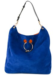 J.W.Anderson Large Pierce Tote Blue