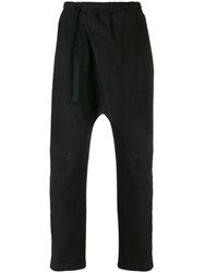 Alchemy Slouched Track Trousers Black