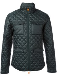 Save The Duck Quilted Jacket Green