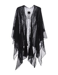 Atos Lombardini Capes And Ponchos Black