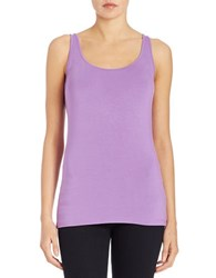 Lord And Taylor Iconic Fit Tank Top Bellflower