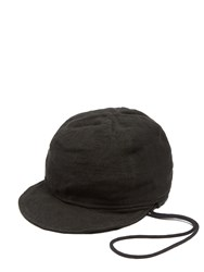 By Walid Handkerchief Jockey Hat Black