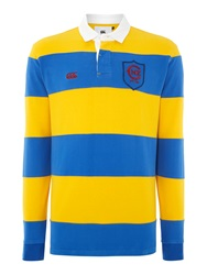 Canterbury Of New Zealand Stripe Regular Fit Rugby Top Royal
