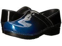 Sanita Original Professional Milan Blue Clog Shoes