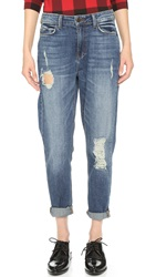 Siwy Amy High Rise Girlfriend Jeans Neon Blush