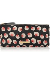 Stella Mccartney Printed Canvas Cosmetics Case Black