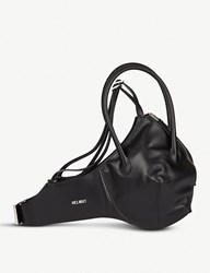 Helmut Lang Bra Leather Bag Black