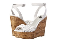 G By Guess Ethal White Women's Wedge Shoes