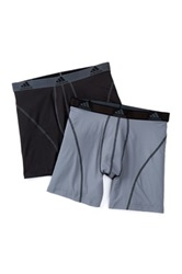 Adidas Climalite Performance Boxer Brief Pack Of 2 Black