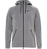 Nike Training Dri Fit Zip Up Hoodie Gray