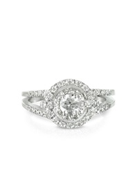 Forzieri 058 Ctw Diamond 18K White Gold Ring