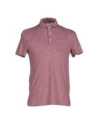 Oliver Spencer Topwear Polo Shirts Men Red