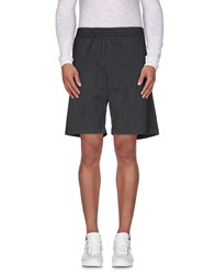 Mauro Grifoni Trousers Bermuda Shorts Men Dark Blue