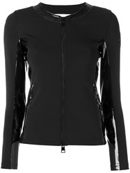 Rossignol Fitted Side Panel Jacket Women Cotton Polyamide Polyester Spandex Elastane L Black