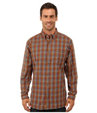Mountain Khakis Downtown Flannel Shirt Wren Men's Clothing Brown