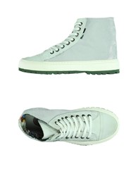 Yab Footwear High Tops And Trainers Women Silver