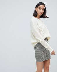 Selected Femme Chunky Knit Jumper Cream