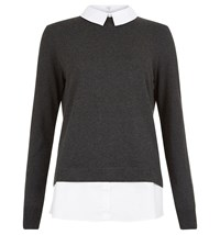 Hobbs Milly Sweater Grey