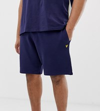 Lyle And Scott Sweat Short In Navy