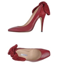 Carven Pumps Maroon