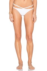 Rachel Pally Sunset Bikini Bottom White