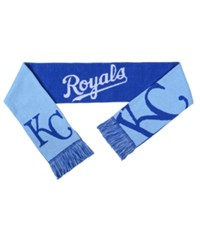 Forever Collectibles Kansas City Royals Reversible Split Logo Scarf Royal Blue