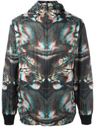 Marcelo Burlon County Of Milan Zipped Hooded Jacket