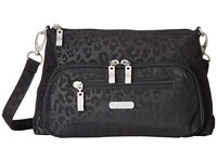 Baggallini Everyday Bagg Cheetah Black Cross Body Handbags Multi