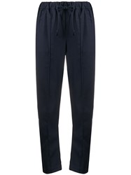 Semicouture Cropped Track Trousers 60