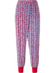 Stella Mccartney Dotted Tapered Trousers