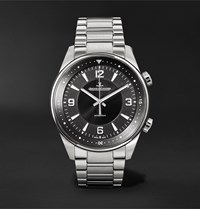 Jaeger Lecoultre Polaris Automatic 41Mm Stainless Steel Watch Ref. No. Q3978480 Black