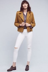 Anthropologie Paige Verdugo Low Rise Petite Skinny Jeans White