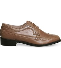 Office Freddy Leather Brogues Tan Leather