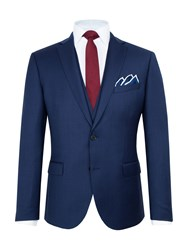 Paul Costelloe Men's City Wool Slim Fit Suit Jacket Navy