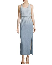 Candc California C And C California Striped Racerback Maxi Dress Indigo White