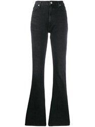 Citizens Of Humanity Georgia High Rise Flared Jeans Black