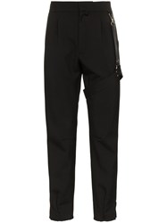 Alyx Bondage Strap Cotton Blend Trousers Black