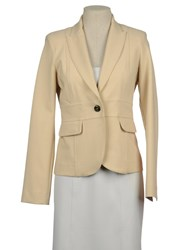 Atos Lombardini Suits And Jackets Blazers Women Beige