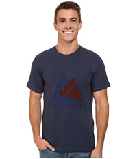 Black Diamond S S Raven Tee Indigo Men's T Shirt Blue